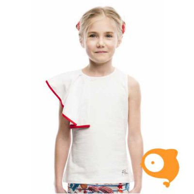 Rosalita señoritas - Alberton T-shirt waaier wit