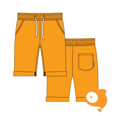 Maxomorra - Sweatshorts knee orange