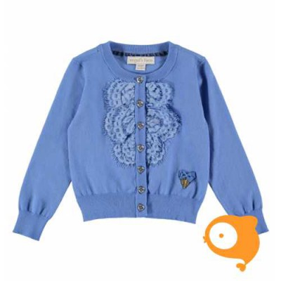 Angels Face - Bella cardigan cornflower blue