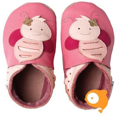 Bobux - Soft sole GIANTS roze bij