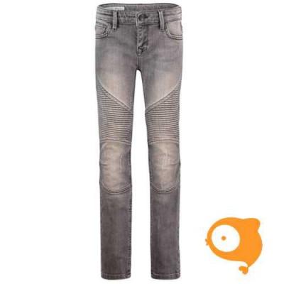 BOOF - Sparrow dark biker grey jeans