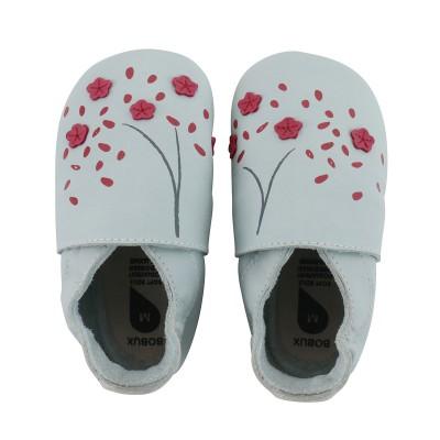 Bobux - Soft soles cherry blossom sky