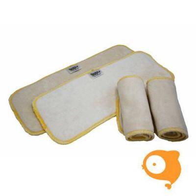 Pandababy - Booster voor wasbare luier 'bamboo inlegluier'