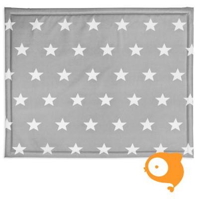 Jollein - Boxdek 75 x 95 cm little star dark grey