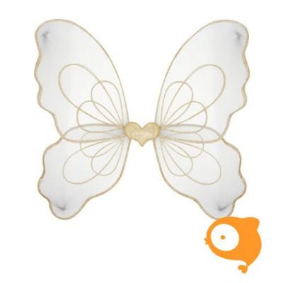 Mimi & Lula - Vleugels magic fairy grijs/goud