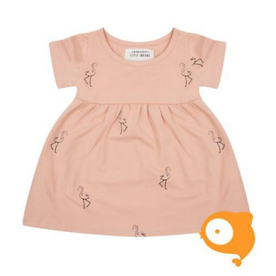 Little Indians - Kleedje Flamingo Dusty Coral