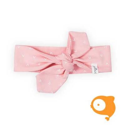 Jollein - Haarband hearts soft pink