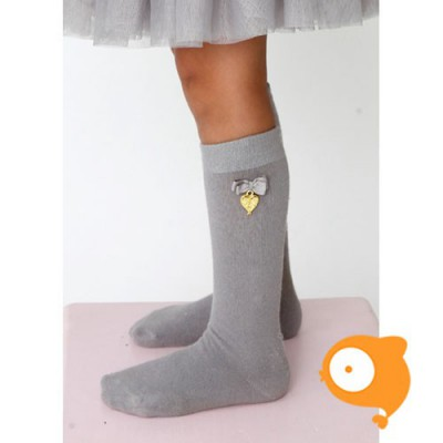 Angels Face - Charming socks grey