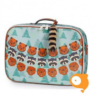 Jeune Premier Mini - Koffertje Suitcase - Forest boys