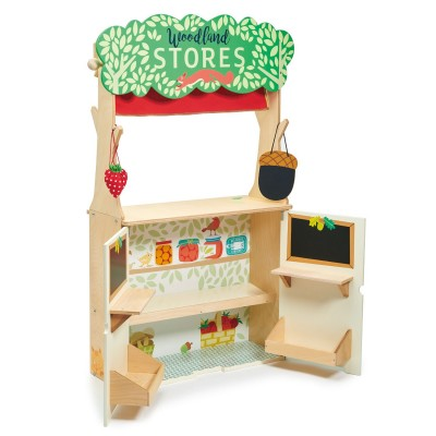 Tender Leaf Toys - Winkeltje en poppenkast 'Woodland'