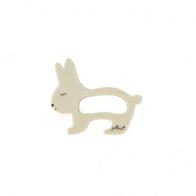 Jollein - bijtring hout konijn