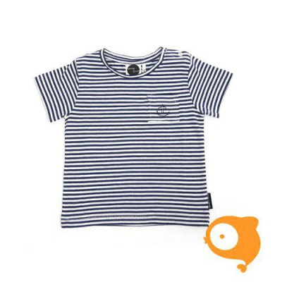 Sproet & Sprout - T-shirt Anchor Navy Stripe