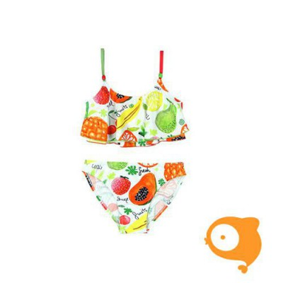 Boboli - Bikini wit met fruit