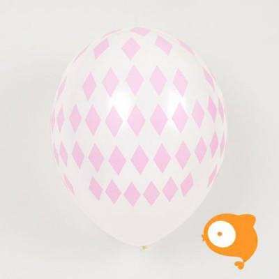 My little day - Ballonnen diamant roze - set van 5