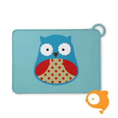 Skip Hop - Zoo Fold & Go Placemat Owl