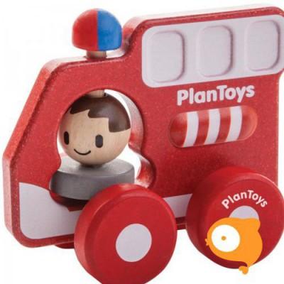 Plantoys - Brandweerwagen