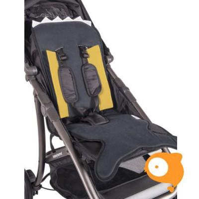 Baby Bites - Zitkussen kinderwagen navy blue