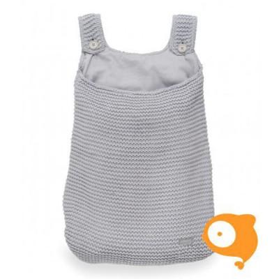 Jollein - Boxopbergzak heavy knit licht grijs