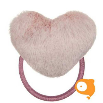 Mimi & Lula - Furry heart pony roze