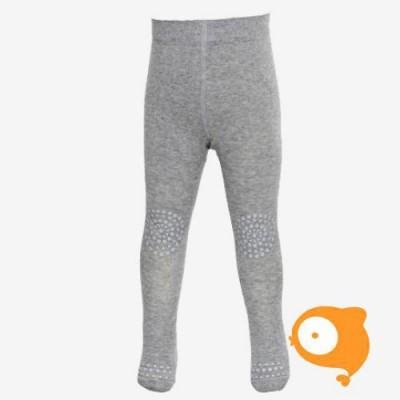 GoBabyGo - WOOL crawling tights Grey melange