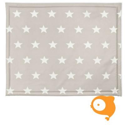Jollein - Boxdek 75 x 95 cm little star sand