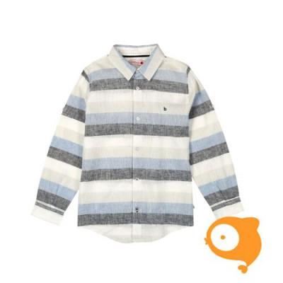 Boboli - Gestreept linnen hemd