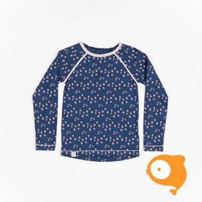 Albababy - Ghita blouse - Estate blue wild flower