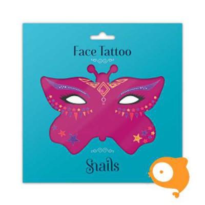 Snails - Face Tattoo - Fairy Dust