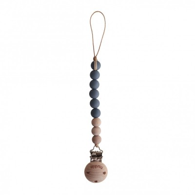 Mushie - Speenketting Cleo - Iron/Wood