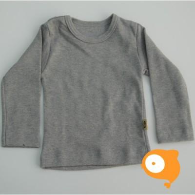 Wooden Buttons - Longsleeve grijs