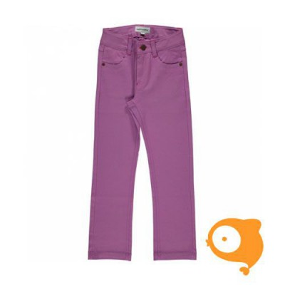 Maxomorra - Pants twill light purple
