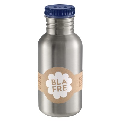 Blafre - steel bottle dark blue 500 ml