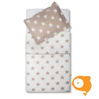 Jollein - Bedset 120 x 150 cm little star sand