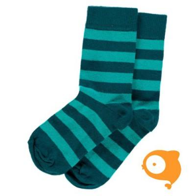 Maxomorra - Socks blue/turquoise