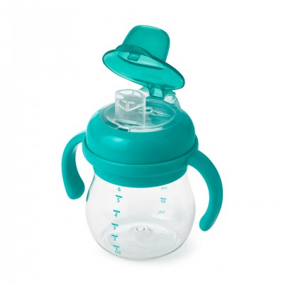 OXO tot - Soft Spout Cup with removable handles (150 ml) - teal