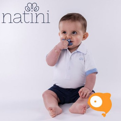 Natini - Body lucien vichy light blue