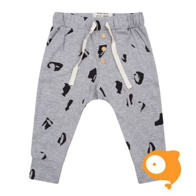 Little Indians - Broek Animal Grey Melange