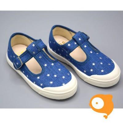 Pépé Children Shoes - Tessuto jeans stella open