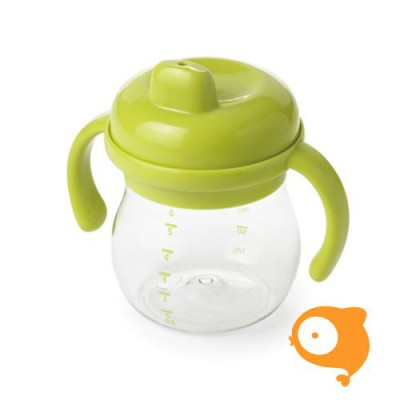 OXO tot - Transitions sippy cup with removable handles (150ml) - groen