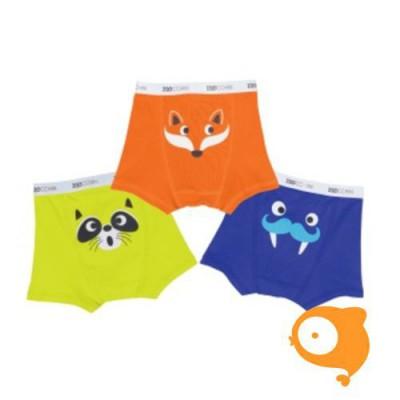 Zoocchini - Boxers oranje multi - pakketje van 3 JONGENS