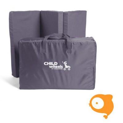 Childhome - Matras voor reisbed 60x120 antraciet