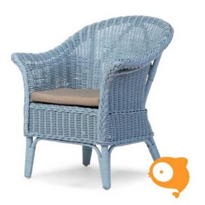 Childhome - Mimo kid wicker chair blauw