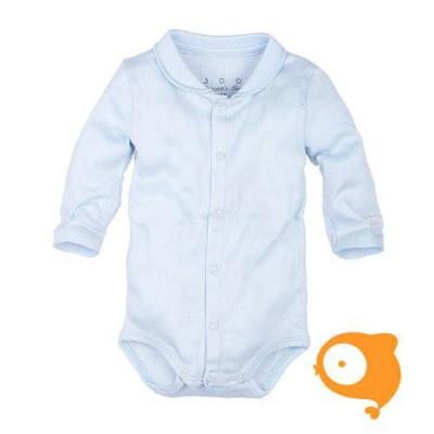 Claesen's - Newborn romper lange mouwen baby blauw