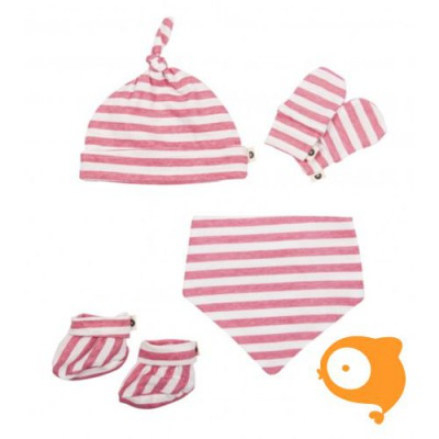 Baby Bites - Set voor pasgeborene sailor pink stripes