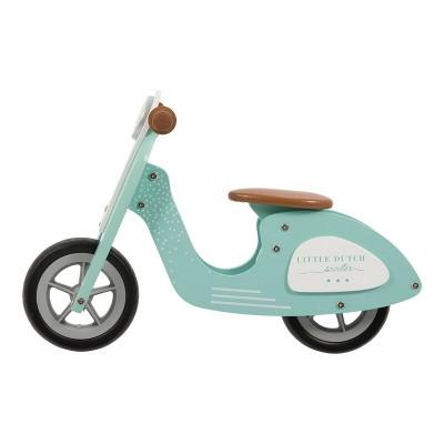 Little Dutch - Scooter hout - mint