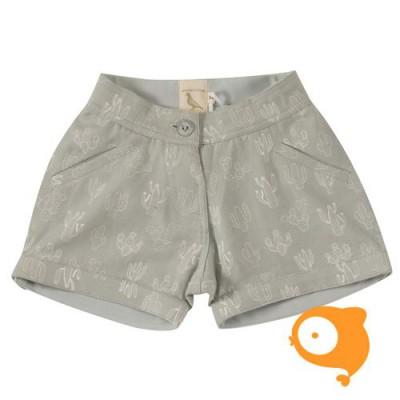 Pigeon - Printed shorts cactus