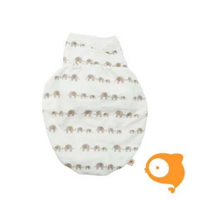 Ergobaby - Baby swaddler inbakerdoek elephant