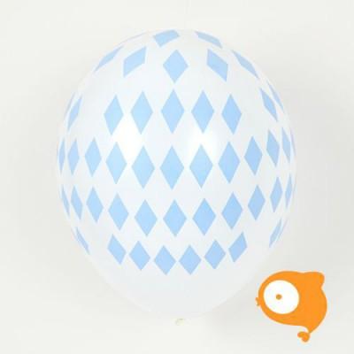 My little day - Ballonnen diamant blauw - set van 5