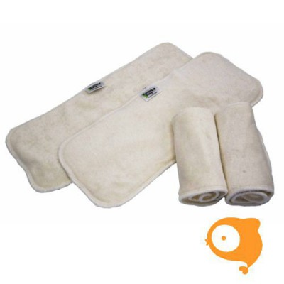 Pandababy - Booster voor wasbare luier 'combi booster inlegluier'