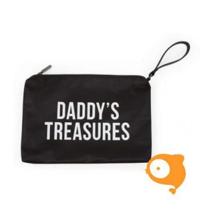 Childhome - Clutch 'daddy's treasures' zwart